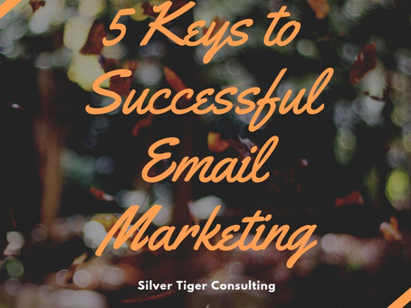 5 Keys to Successful Email Marketing