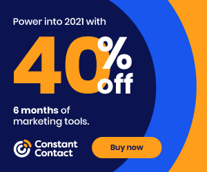 Power into 2021 with 40% Off!