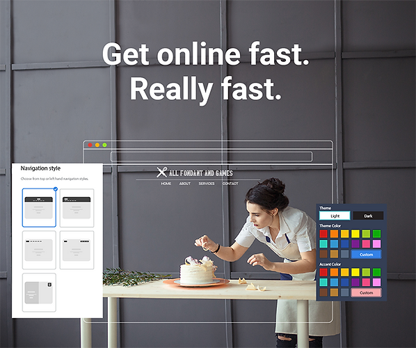AI Web Builder and Integrated Marketing Platform from Constant Conact