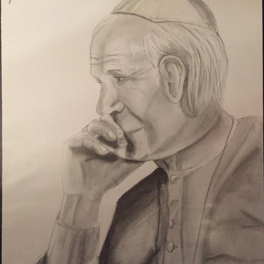 St. John Paul II - Profile Study  (2016)