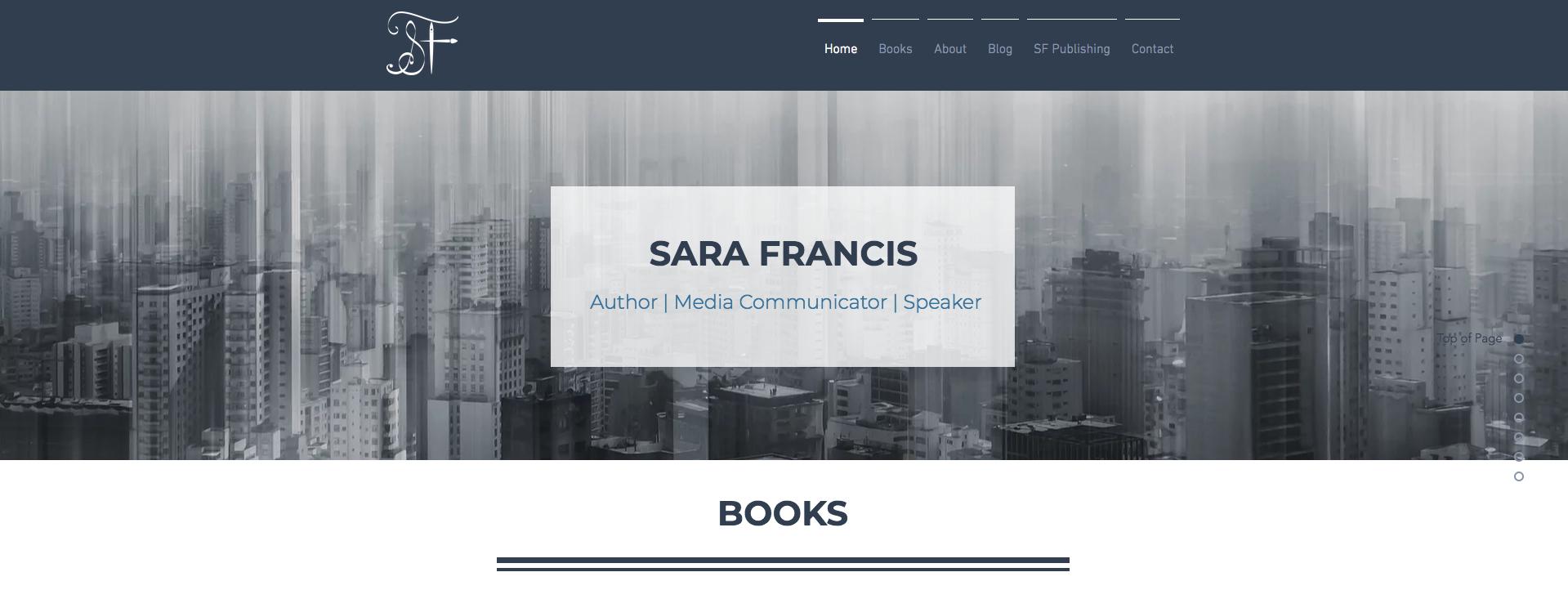 SF Publishing Web Design [LINK]