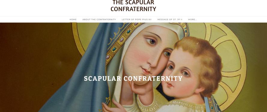 Website Design - Confraternity [LINK]