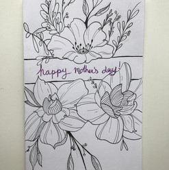 Greeting Card Comission - Mother's Day (2018)