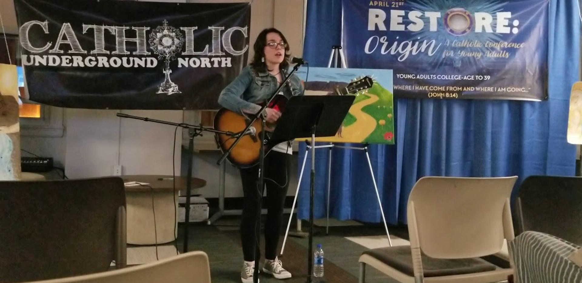 Worth Waiting For - Sara Francis LIVE