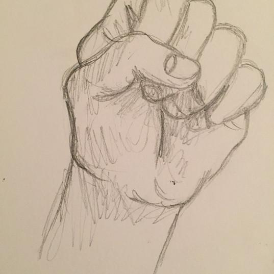 Hand Study (2015)