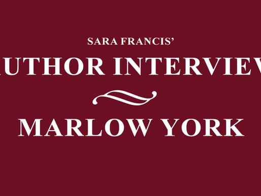 Marlow York - Author Interview