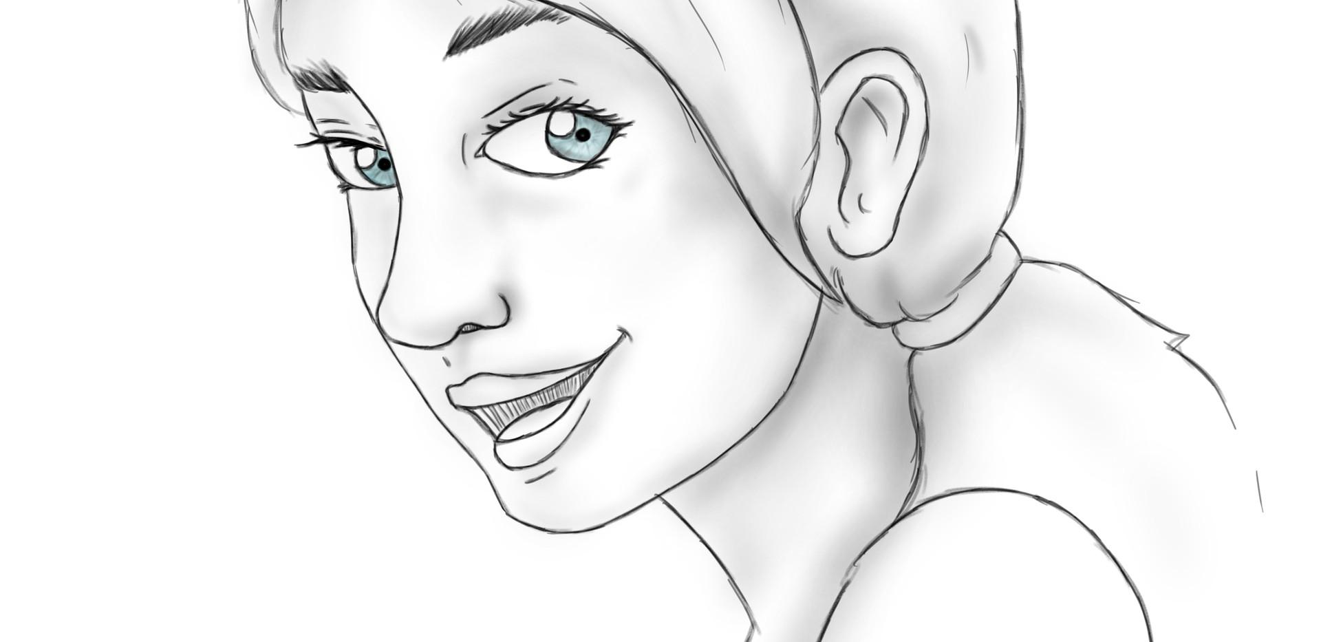 Marlene - Character Design