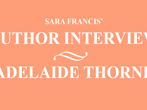 Adelaide Thorne - Author Interview