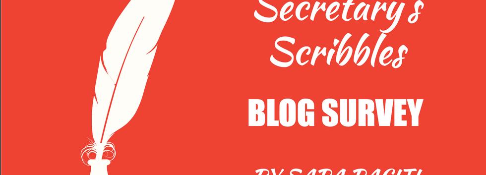 Blog Survey [DOWNLOAD]