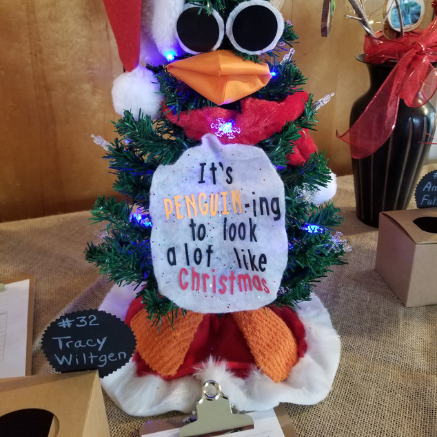 It's PEGUIN-ing to Look A Lot Like Christmas