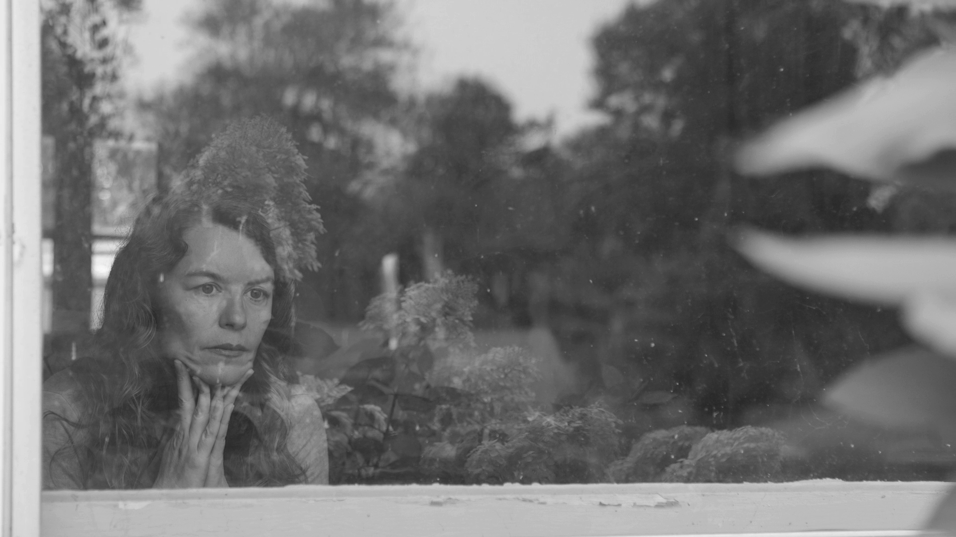 Maria reflecting