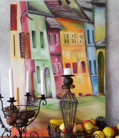 Fröhliche Häuser