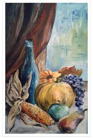 Stillleben mit Herbstfrüchten
