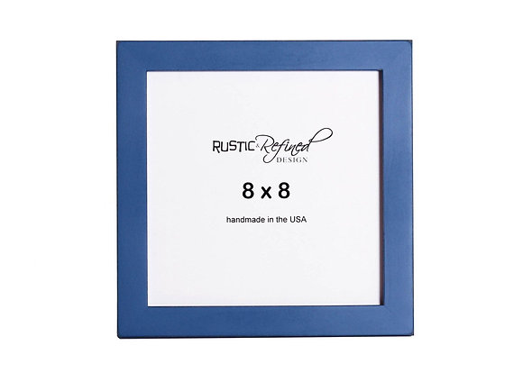 "8x8 1"" Gallery Picture Frame - Colonial Blue"