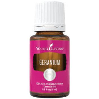 Geranium Essential Oil (Pelargonium graveolens) 15 ml