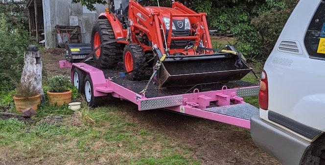 Wet Tractor Hire
