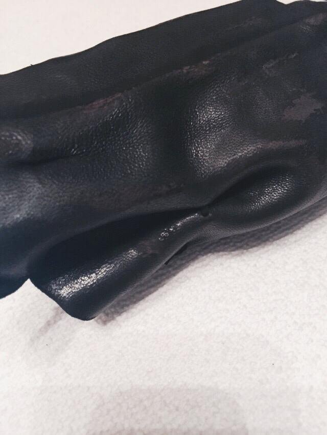 Burned Leather Glove