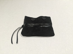 Leather Wallet with Leather Ropes