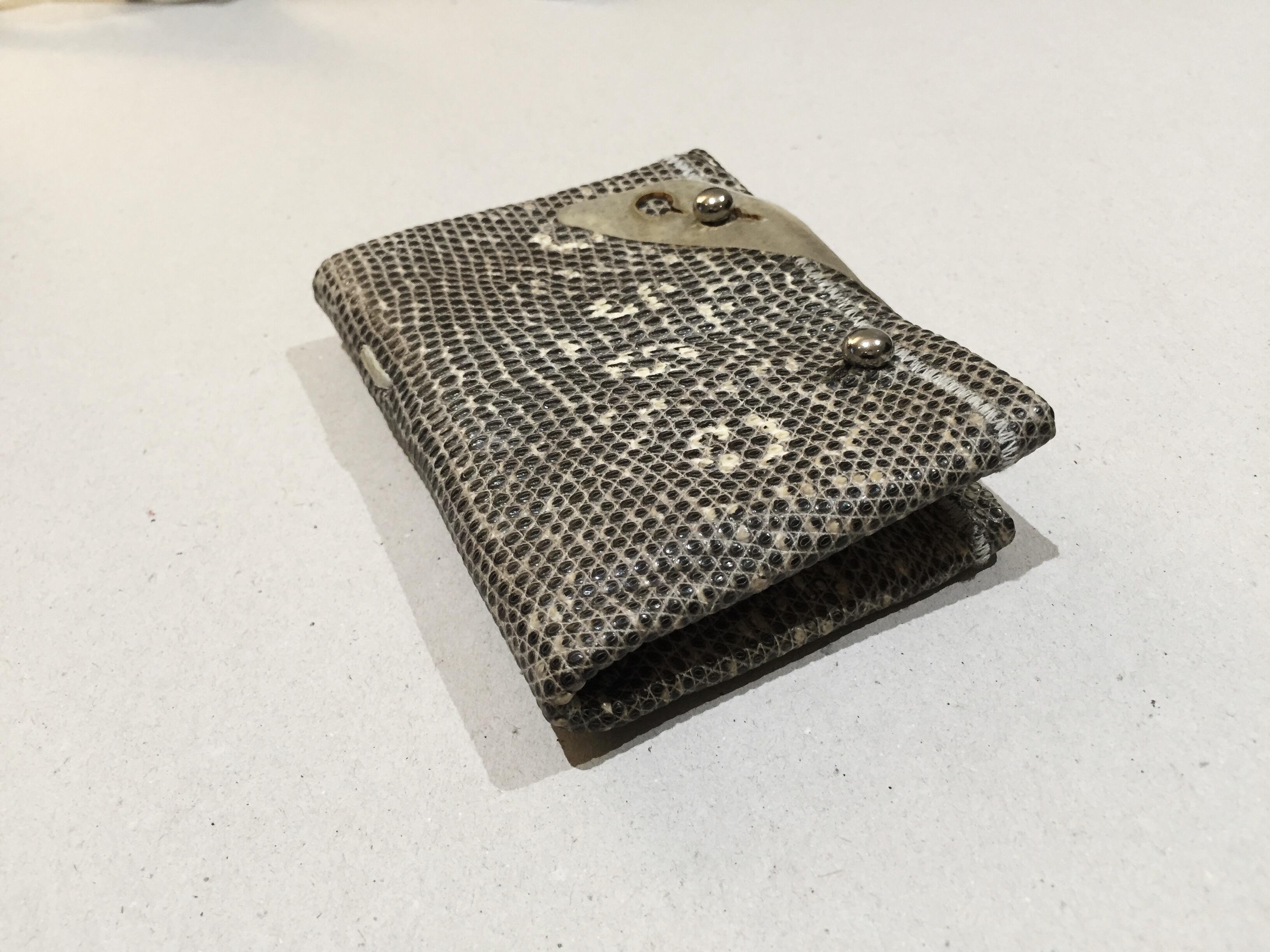Lizard Leather Wallet