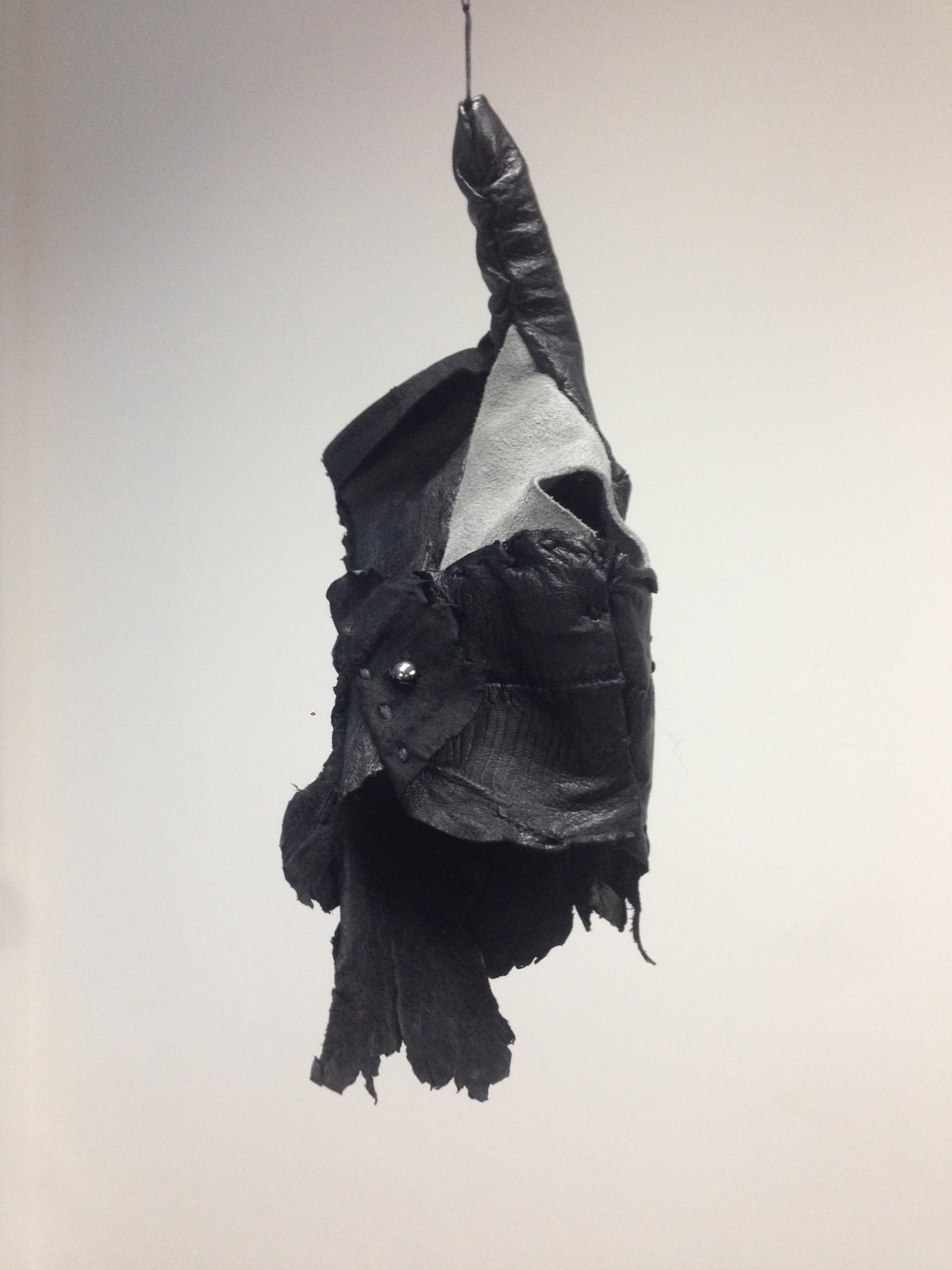 Sea Eel Leather Single Glove