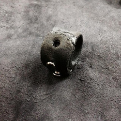 Burned Leather Ring
