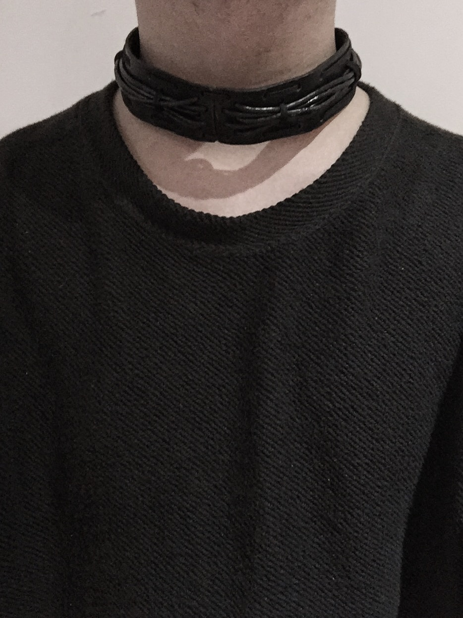 Leather Necklet