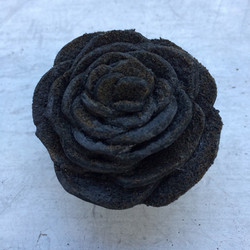 Burned Leather Rose
