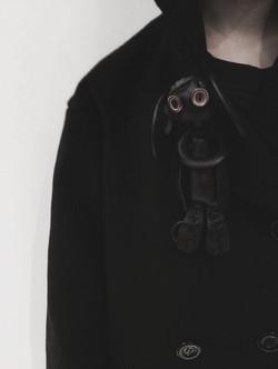 Burned Lamb Leather Doll
