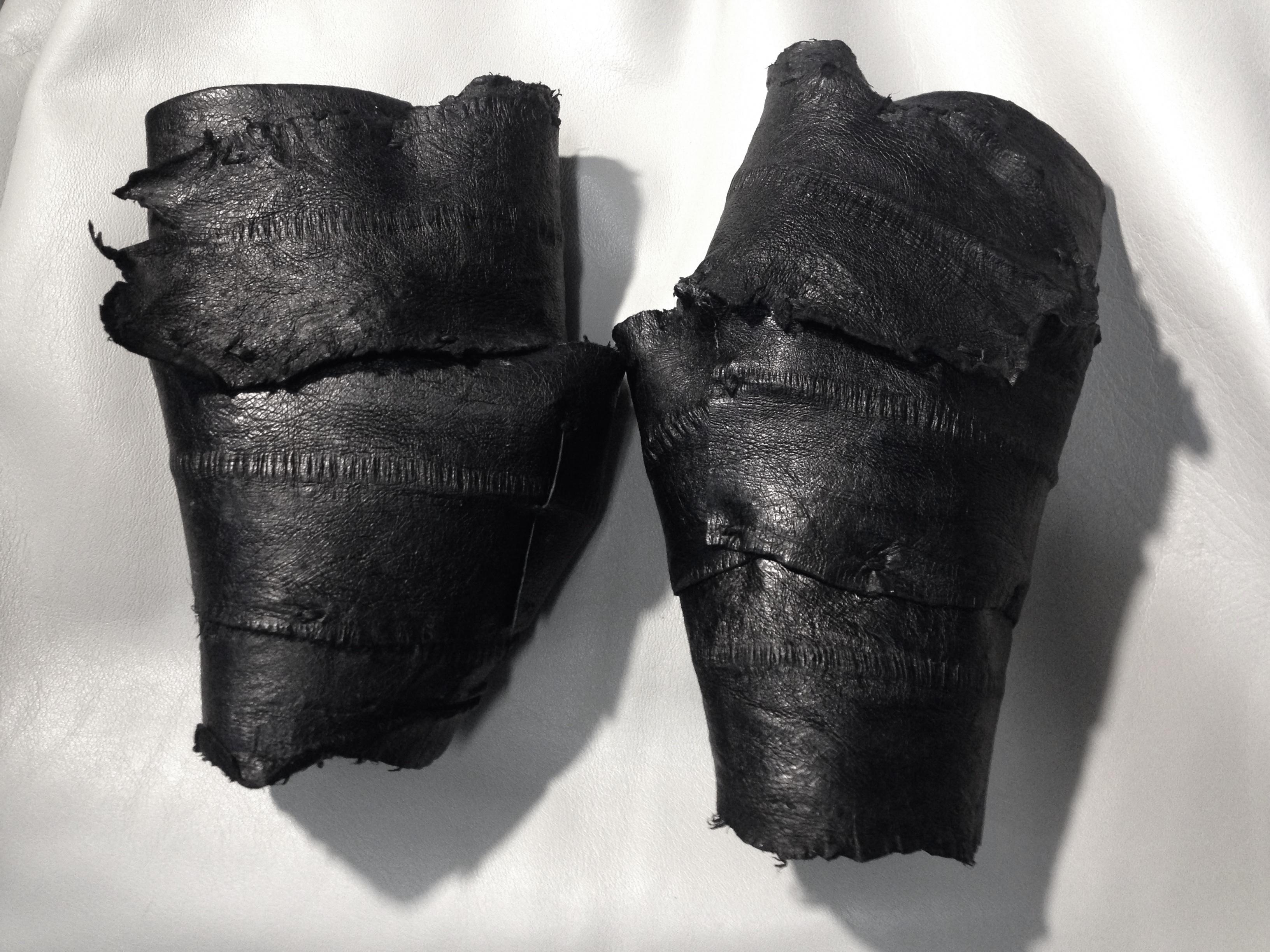 Sea Eel Leather Gloves