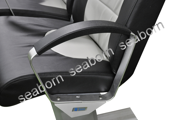 Aluminium Armrest With PU Moulded Pad