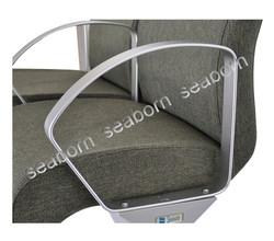 Curve Aluminium Armrest