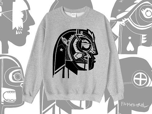 the warrior crew neck sweater