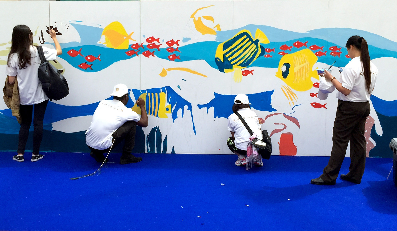Interactive Mural for WWF