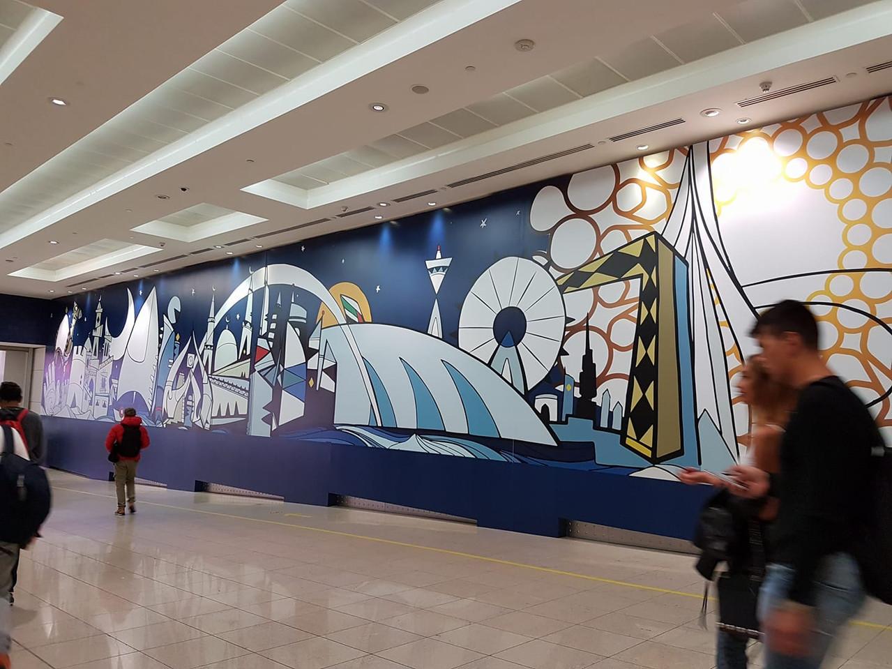 Dubai Airport, T3