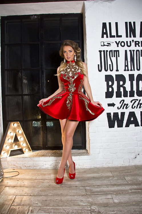 "Платье ""Нита"" red"
