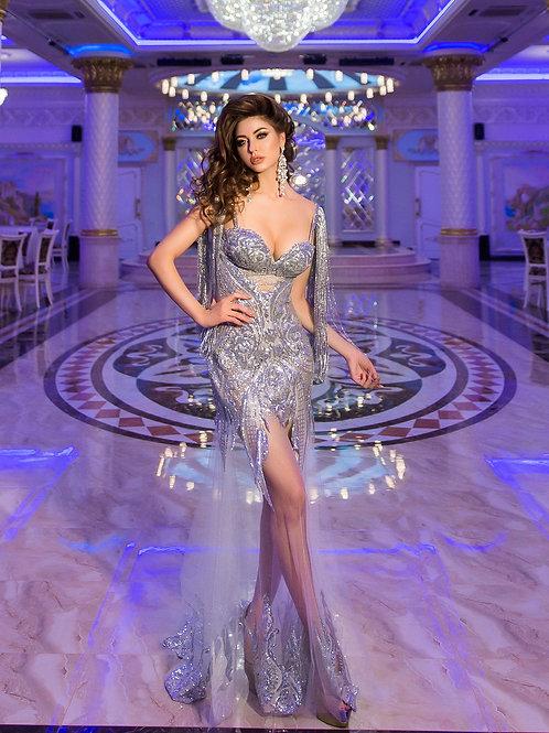 """Вечернее платье """"Пандора"""" Silver"""