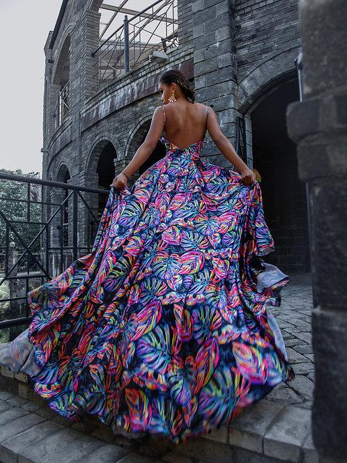 """Платье """"Черные тропики"""""""