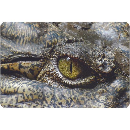 Crocodile Jigsaw Drink Coasters