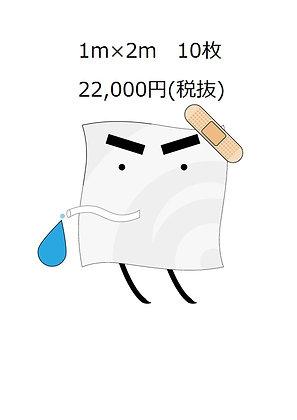 雨漏りうける君1m×2m 10枚セット(税抜)