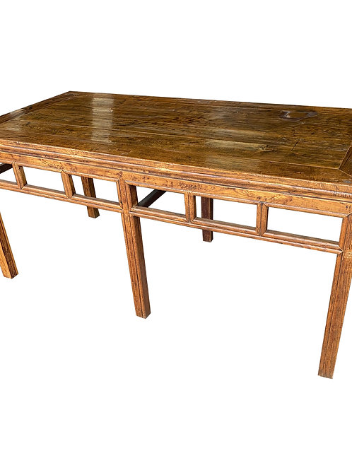 19th Century Chinese Hardwood Console Table