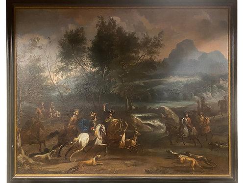17th-Early 18th Century Dutch Hunt Scene