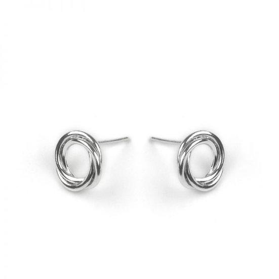Silver Bonds Of Friendship Earrings