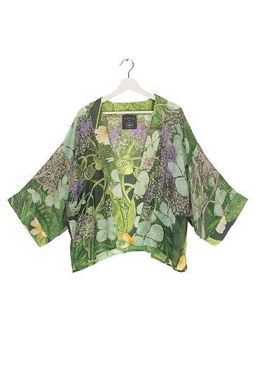 OHS X KEW RBG Marianne North Hydrangea Lime Green Kimono