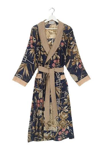 Bamboo Indigo Gown