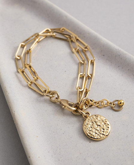 Andros Bracelet Gold or Silver