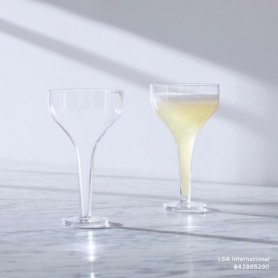 Epoque Champagne Flute Clear x 2