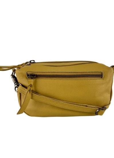 Soft box bag yellow