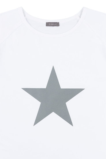 Chalk Robyn Top white Star