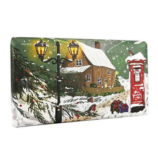 Countryside in Winter Christmas Soap