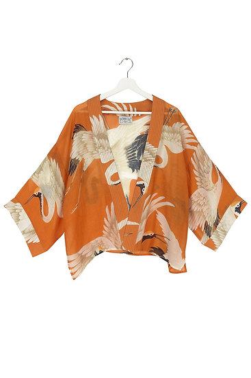 ONE HUNDRED STARS Stork Orange Kimono